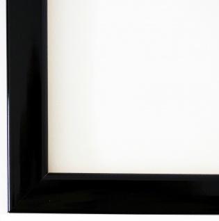 Bilderrahmen Rahmen Holz Modern Art Hannover in Schwarz Lack 2, 4 - Top Qualität