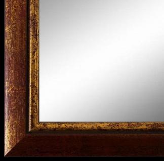 Wandspiegel Spiegel Rot Gold Retro Vintage Holz Perugia 3, 0 - NEU alle Größen