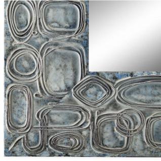 Wandspiegel Spiegel hell Blau Retro Holz Catania 6, 8 - NEU alle Größen