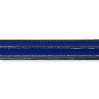 Bilderrahmen Blau Antik Holz Cosenza 2, 0 - Din A2 - Din A3 - Din A4 - Din A5 - Vorschau 2