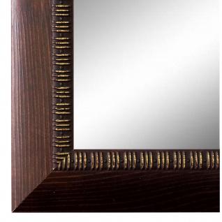 Wandspiegel Spiegel Braun Vintage Retro Holz Turin 4, 0 - NEU alle Größen