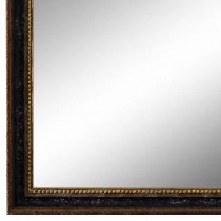 Wandspiegel Spiegel Schwarz Braun Gold Barock Holz Empoli 1, 5 - NEU alle Größen