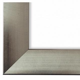 Bilderrahmen Silber Modern Vintage Retro Bergamo 4, 0 - NEU alle Größen