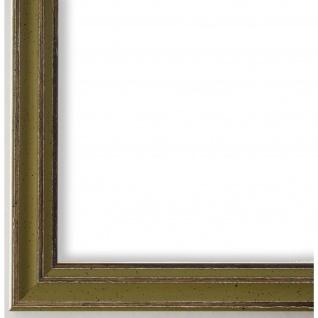 Bilderrahmen Grün Antik Holz Cosenza 2, 0 - DIN A2 - DIN A3 - DIN A4 - DIN A5