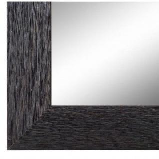 Wandspiegel Spiegel Schwarz Struktur Modern Holz Florenz 4, 0 - NEU alle Größen