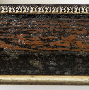 Wandspiegel dunkel Braun Silber Monza Antik Barock 6, 7 - NEU alle Größen - Vorschau 5