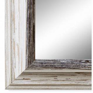 Wandspiegel Spiegel Beige Schwarz Vintage Retro Holz Bari 4, 4 - NEU alle Größen