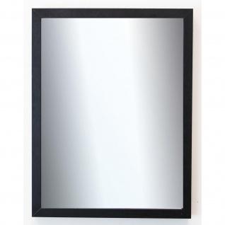 Spiegel Wandspiegel Badspiegel Flur Garderobe Modern Como Schwarz Struktur 2, 0