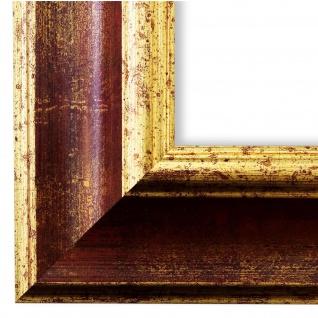 Bilderrahmen Rot Gold Antik Vintage Retro Rahmen Acta 6, 8 - NEU alle Größen