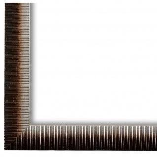 Bilderrahmen Braun Silber Sorrento 2, 5 - DIN A2 - DIN A3 - DIN A4 - DIN A5