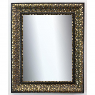 Garderobenspiegel Schwarz Gold Ancona Barock 7, 5 - NEU alle Größen