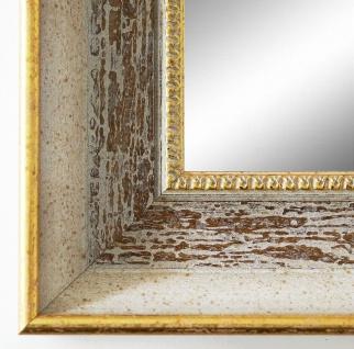 Badspiegel Beige Braun Monza Antik Barock 6, 7 - alle Größen