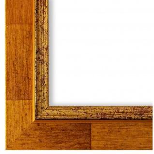 Bilderrahmen hell Braun Retro Vintage Holz Catanzaro 3, 9 - NEU alle Größen