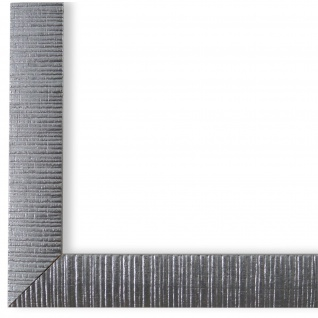 Bilderrahmen Silber Retro Holz Sorrento 2, 5 - DIN A2 - DIN A3 - DIN A4 - DIN A5