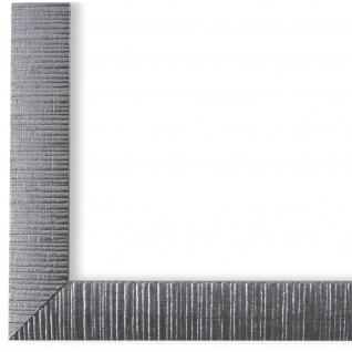 Bilderrahmen Silber Retro Vintage Holz Sorrento 2, 5 - NEU alle Größen
