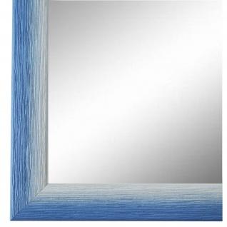 Wandspiegel Spiegel hell Blau Retro Vintage Holz Pinerolo 2, 3 - NEU alle Größen