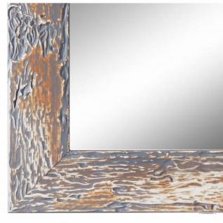 Wandspiegel Spiegel Grau Retro Vintage Holz Parma 3, 9 - NEU alle Größen