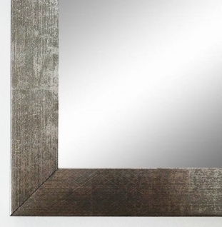 Spiegel Wandspiegel Badspiegel Flur Modern Shabby Wolfsburg Silber Metall 3, 0