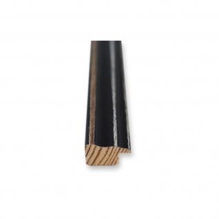 Bilderrahmen Schwarz Antik Shabby Holz Cosenza 2, 0 - NEU alle Größen - Vorschau 5