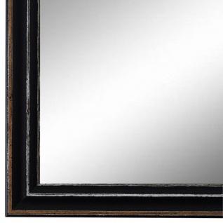 Wandspiegel Spiegel Schwarz Antik Shabby Holz Cosenza 1, 9 - NEU alle Größen