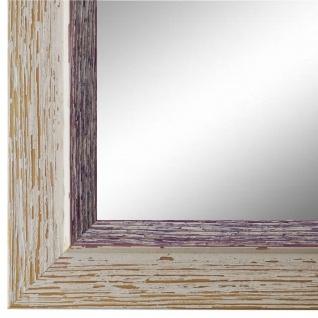 Spiegel Wandspiegel Beige Lila Modern Holz Catanzaro 3, 9 - NEU alle Größen