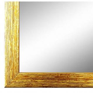 Wandspiegel Spiegel Gold Struktur Modern Holz Como 2, 0 - NEU alle Größen