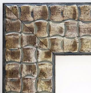 Bilderrahmen Silber Kupfer Modern Shabby Rahmen Holz Bremen in 8, 0 - alle Größen
