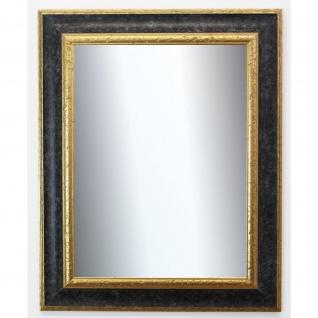 Garderobenspiegel Schwarz Gold Acta Antik Barock 6, 7 - NEU alle Größen