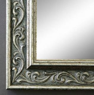 Wandspiegel Silber Antik Barock Spiegel Badspiegel Flur Vintage Verona 4, 4