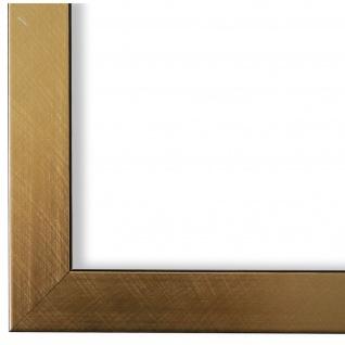 Bilderrahmen Gold Modern Vintage Holz Amalfi 2, 5 - NEU alle Größen