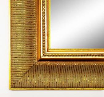 Spiegel Wandspiegel Badspiegel Flurspiegel Barock Antik Clever Line 7 Gold 6, 3