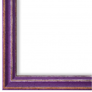 Bilderrahmen Lila Holz Cosenza - 9x13 10x10 10x15 13x18 15x20 18x24 20x20 20x30
