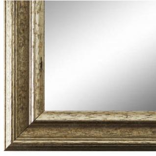 Wandspiegel Spiegel Silber Vintage Retro Holz Forli 3, 7 - NEU alle Größen