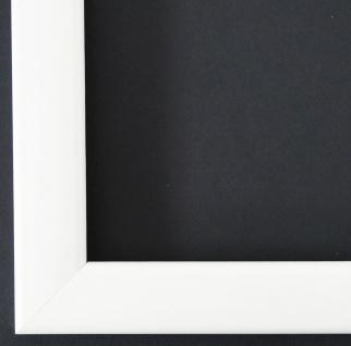 Bilderrahmen Rahmen Holz Modern Art Hannover in Weiss Lack 2, 4 - Top Qualität