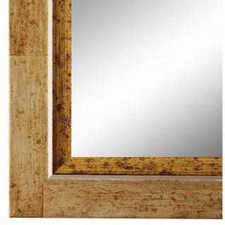 Spiegel Wandspiegel dunkel Beige Modern Holz Catanzaro 3, 9 - NEU alle Größen