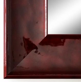 Wandspiegel Hochformat Querformat Taranto Modern Rot Lack 7, 5 - NEU alle Größen
