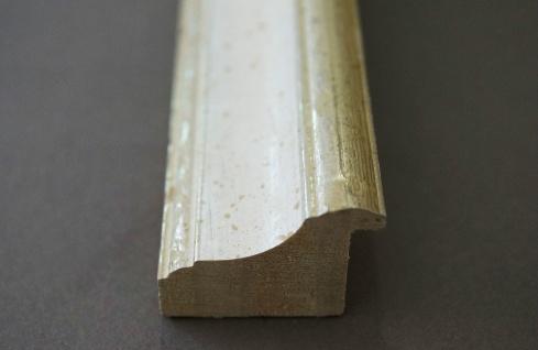 Garderobenspiegel Weiss Silber Genua Antik Barock 4, 3 - NEU alle Größen - Vorschau 4
