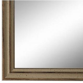 Wandspiegel Spiegel Beige Antik Shabby Holz Cosenza 1, 9 - NEU alle Größen