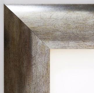 Bilderrahmen Silber Modern Rahmen Holz klassisch Magdeburg 7, 9 - alle Größen