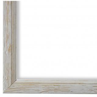 Bilderrahmen Beige gemasert Vintage Shabby Holz Vasto 1, 8 - NEU alle Größen