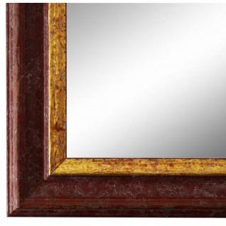 Wandspiegel Spiegel Rot Gold Vintage Retro Holz Forli 3, 7 - NEU alle Größen