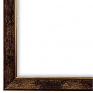 Bilderrahmen Braun Gold Vintage Holz Frosinone 1, 8 - 40x60 50x50 50x60 60x60