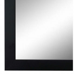 Wandspiegel Spiegel Schwarz Retro Modern Holz Neapel 2, 0 - NEU alle Größen