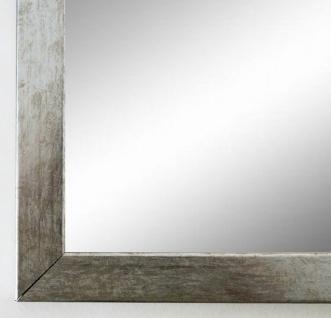 Spiegel Wandspiegel Badspiegel Modern Shabby Vintage Paderborn Silber Metall 2, 1