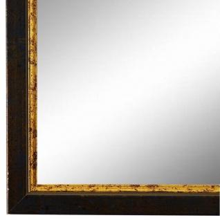 Wandspiegel Spiegel Blau Gold Retro Vintage Holz Sanremo 1, 8 - NEU alle Größen