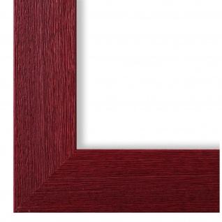 Bilderrahmen dunkel Rot Modern Vintage Retro Holz Florenz 4, 0 - NEU alle Größen