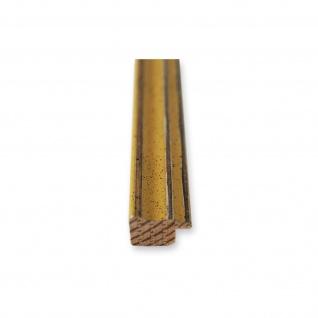 Bilderrahmen Gelb Antik Holz Cosenza - 9x13 10x10 10x15 13x18 15x20 18x24 20x20 - Vorschau 5