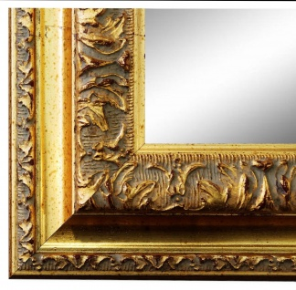 Wandspiegel Spiegel Gold Barock Vintage Holz Rom 6, 5 - NEU alle Größen