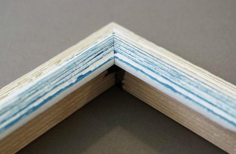 Dekospiegel Beige Blau Bari Antik Barock 4, 2 - alle Größen - Vorschau 5