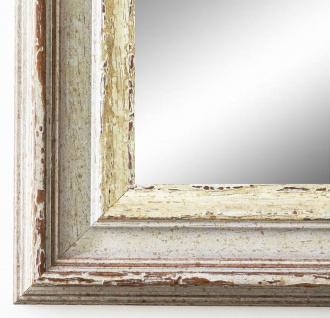 Wandspiegel Beige Silber Trento Antik Shabby 5, 4 - NEU alle Größen